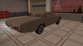 Saints Row variants - Cavallaro - Beater - rear right