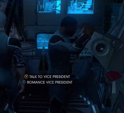 Vice President interaction choice