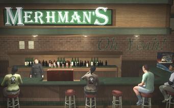 Mehrman's - interior bar