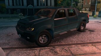 Criminal - front left with dirt in Saints Row The Third