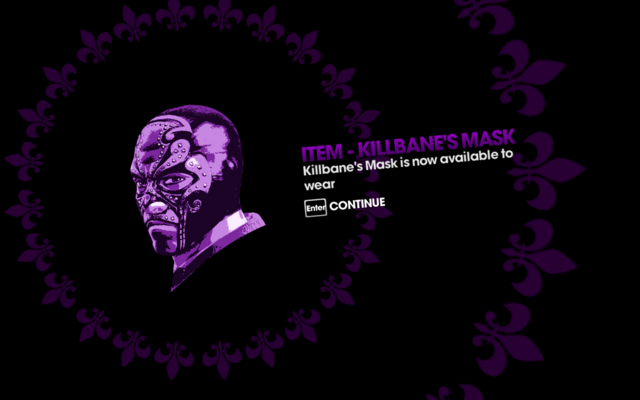File:Murderbrawl XXXI Killbane's Mask unlocked.png