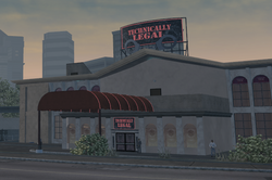 Technically Legal exterior in Saints Row