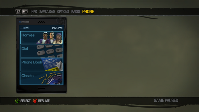 File:Cellphone menu in Saints Row 2.png