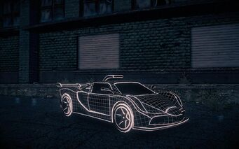 Wireframe Peacemaker