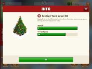 Festive tree level 10