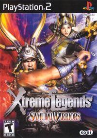 Samurai Warriors Xtreme Legends cover
