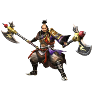 Katsuie Shibata SW4 Render