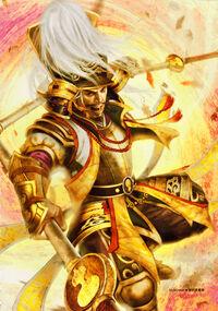 Hideyoshi Toyotomi SW4 Artwork