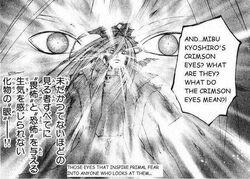 Kyoshiro red eyes