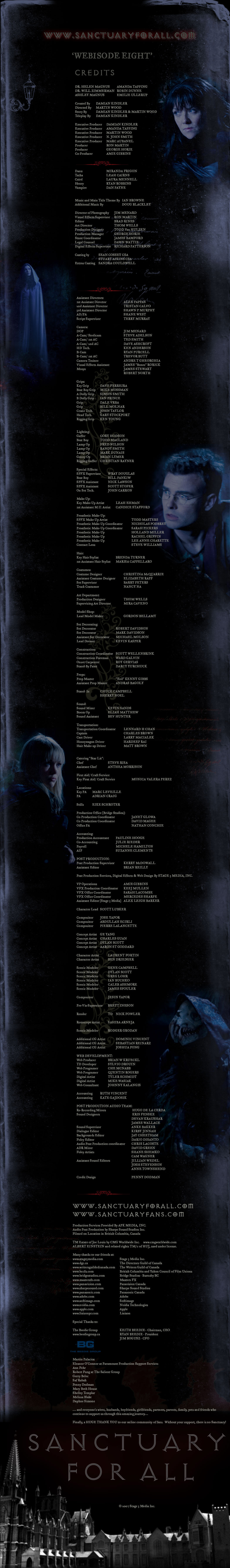 Webisode 8 (credits)
