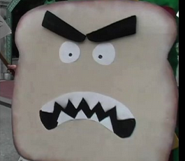 Human sandwich -w-