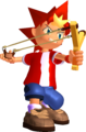 Ape Escape Spike Render.png