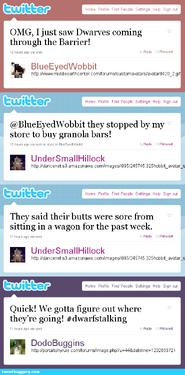 Trek to kraggen-cor fake tweets