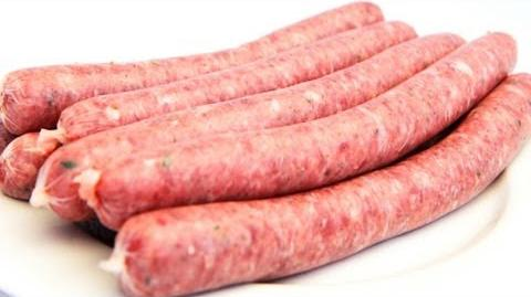 How To Make Bratwurst Sausages - Video Recipe