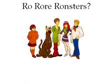 Ro Rore Ronsters