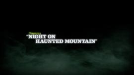 Night on Haunted Mountain title card