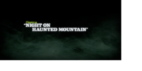 Night on Haunted Mountain