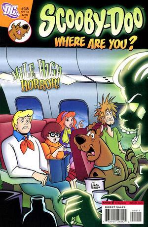 WAY 18 (DC Comics) front cover