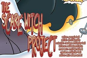 The Scare Witch Project title card