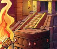 Mayan temple (Jungle Jeopardy)