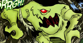 Swamp monster (Big Girls Don't Sneeze)