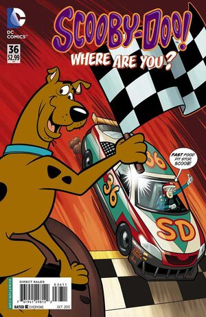 WAY 36 (DC Comics) front cover