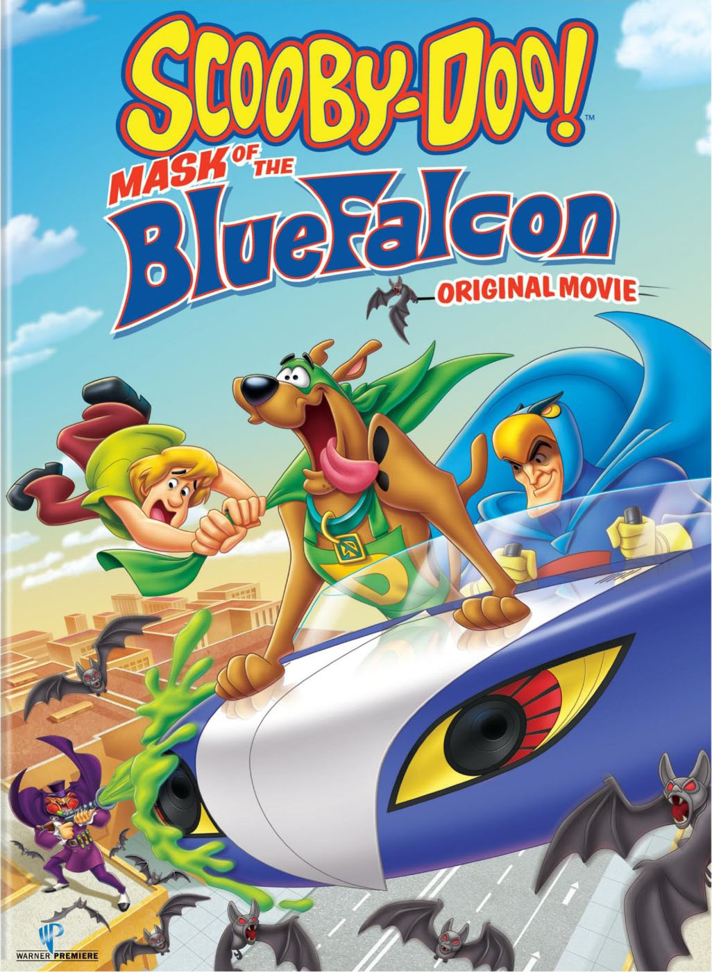 Scooby doo mask of the blue falcon dvd scoobypedia - Scooby doo momie ...