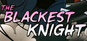 The Blackest Knight title card