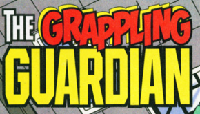 The Grappling Guardian title card