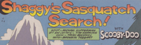 Shaggy's Sasquatch Search! title card