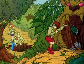 Cave (Jungle Jeopardy)