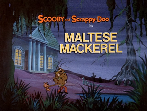 Maltese Mackerel title card