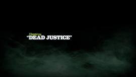 Dead Justice title card