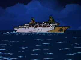 Ship of ghouls ghost ship