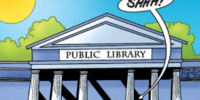Public library (Ghost Writers)