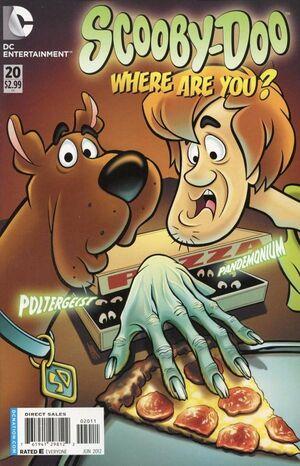 WAY 20 (DC Comics) front cover
