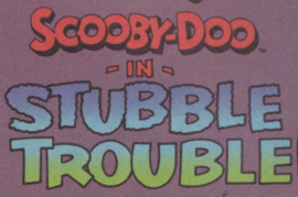 Stubble Trouble title card