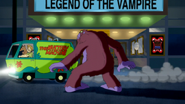 Mystery Machine escapes Chupacabra (film)