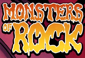 Monsters of Rock title card