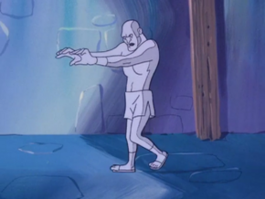 Living statue (Scoobygeist)