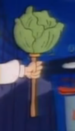 Lettuce on a Stick