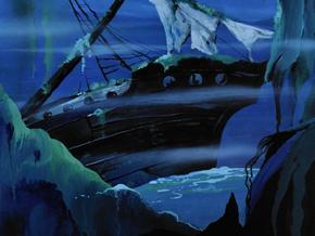 Sunken ship (Twenty Thousand Screams Under the Sea)