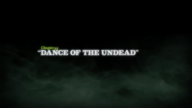 Dance of the Undead title card