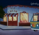 Ice cream shop (The Spooky Case of the Grand Prix Race)