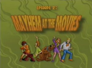 Mayhem at the Movies title card