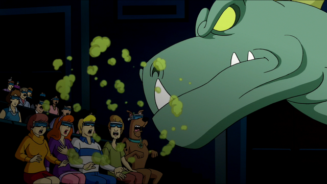 File:Dinosaur Spirit breathes on audience.png