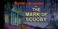 The Mark of Scooby