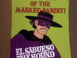 The Legend of the Masked Bandit!