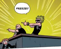 Vegan Police comic