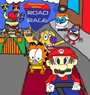Classic Cartoon All Stars Road Rage